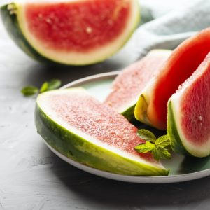 Sweet fresh watermelon